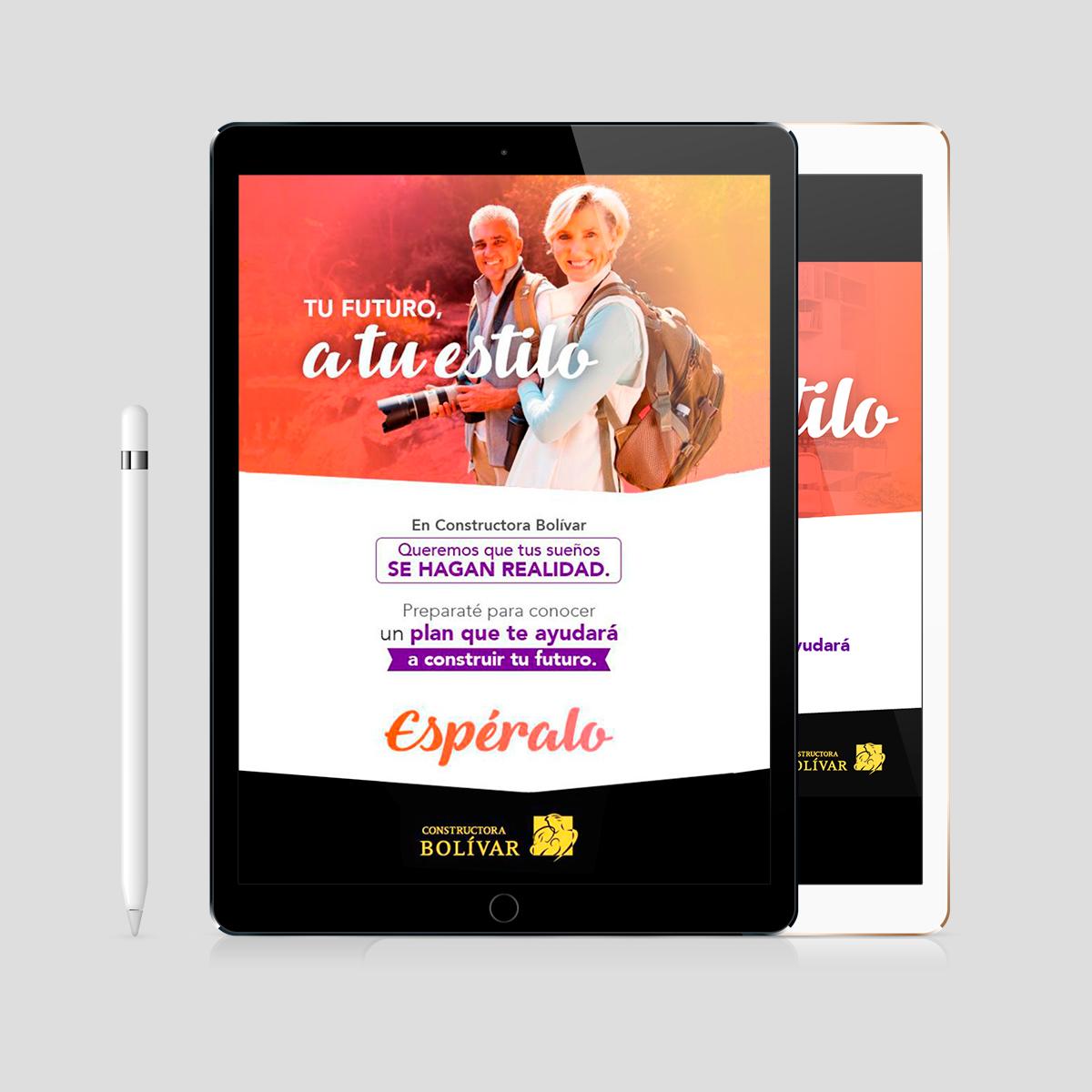 Campaña comunicación prepensionados Constructora Bolivar Imaginario